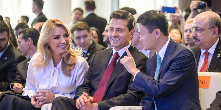 EPN acuerda con titán de comercio apoyar a Pymes
