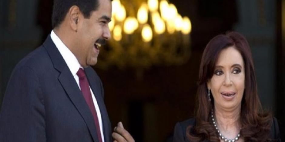 Retira Mauricio Macri Medalla San Martín a su homólogo Nicolás Maduro