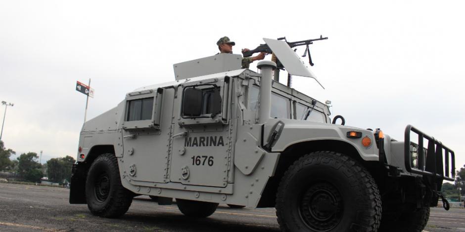 VIDEOS: Realiza Semar práctica del desfile militar