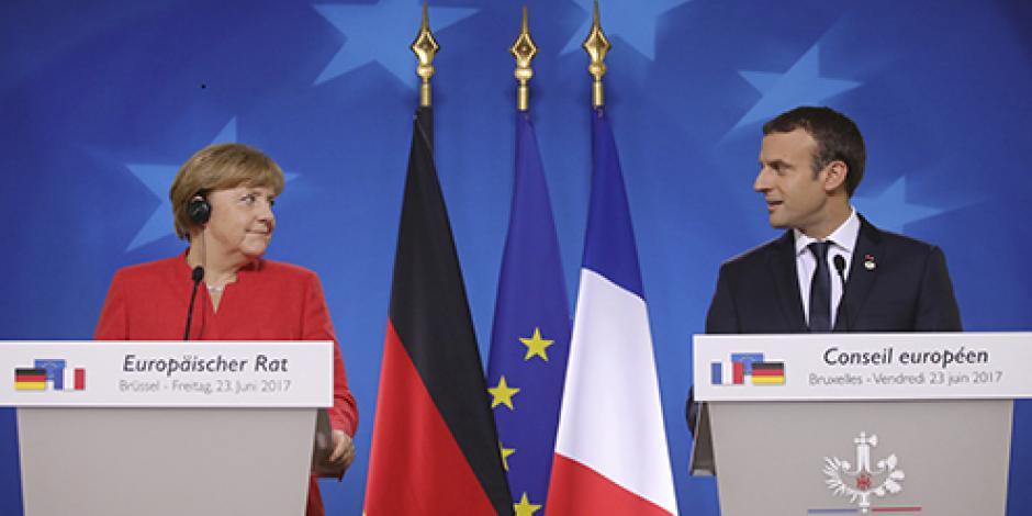 """Crisis migratoria en la Unión Europea """"no es pasajera"""", asegura Macron"""