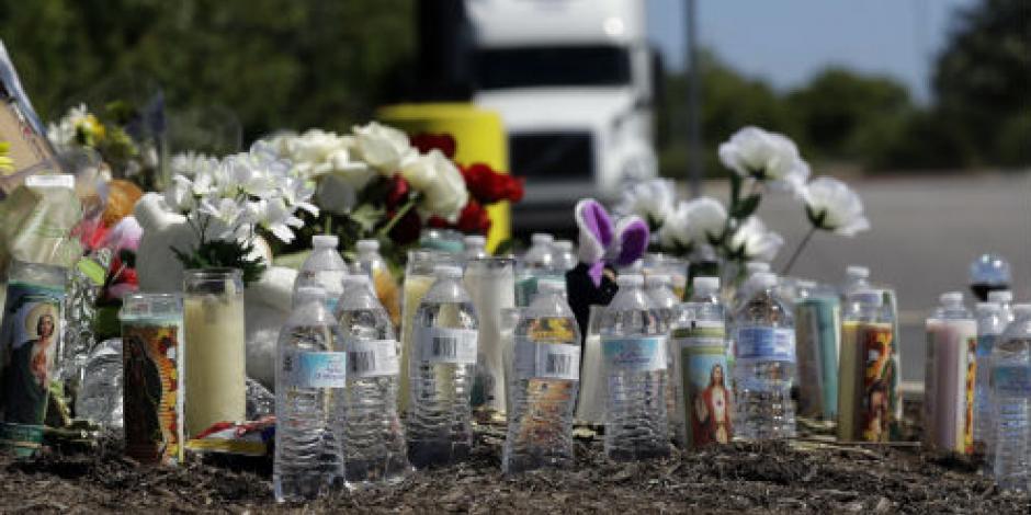 Repatrian primeros cuerpos de mexicanos muertos en tráiler de Texas