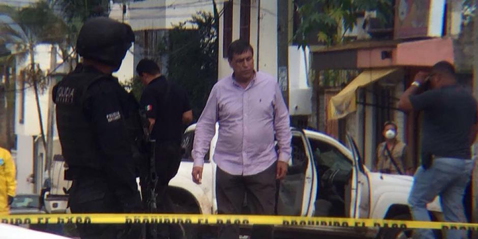 VIDEO: Reportan balacera frente a penal de Nayarit
