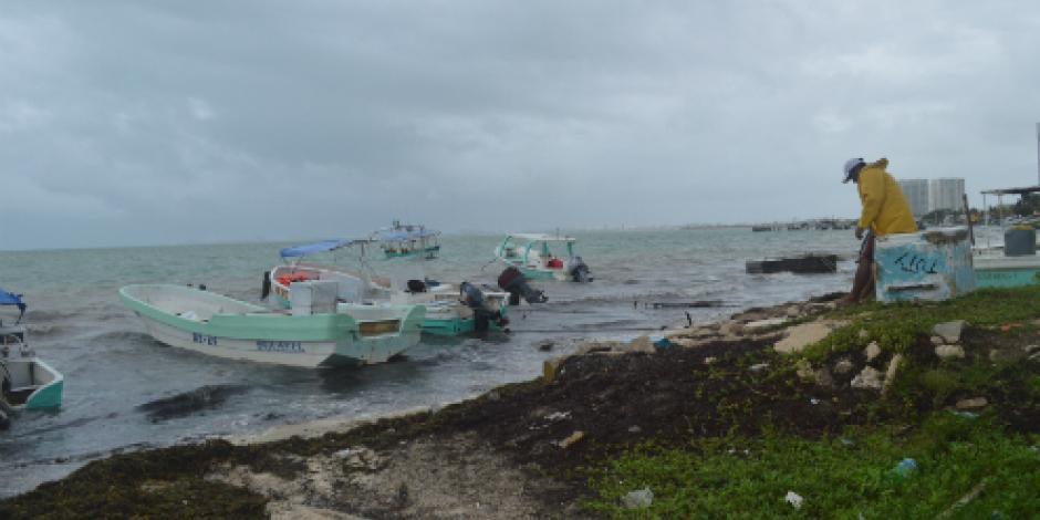 Prevén ciclón tropical entre el sur-oriente del Golfo de México y norte de Yucatán