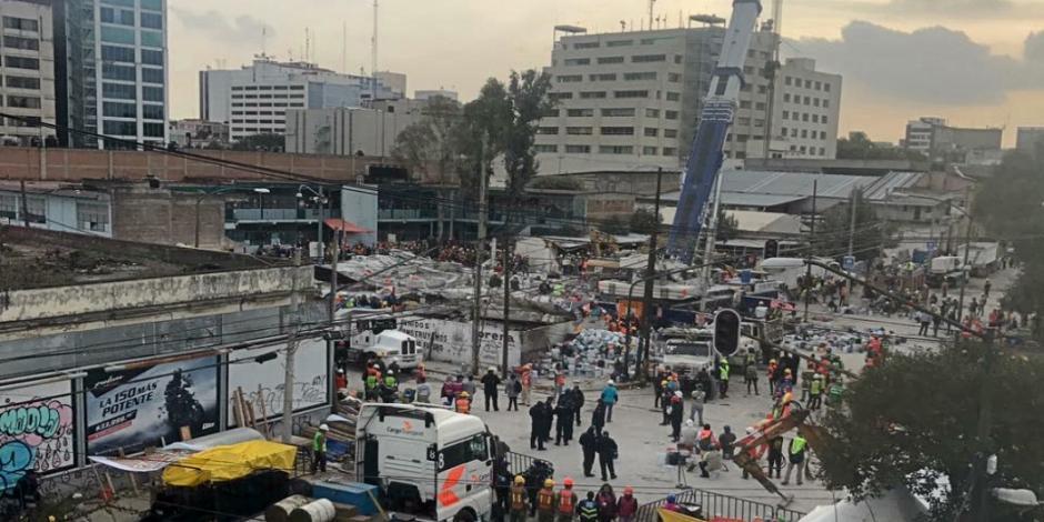 Confirman autoridades que labores de rescate de víctimas aún continúan