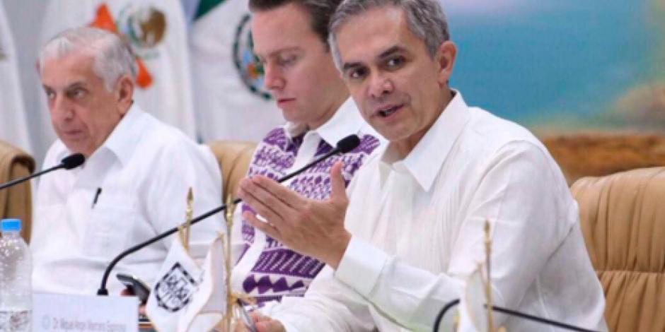 Busca Mancera aumentar presupuesto a Zonas Económicas Especiales