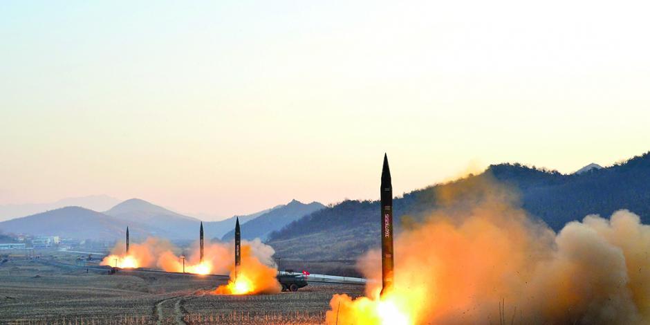 Kim reactiva guerra verbal con EU; amenaza otra vez a Guam