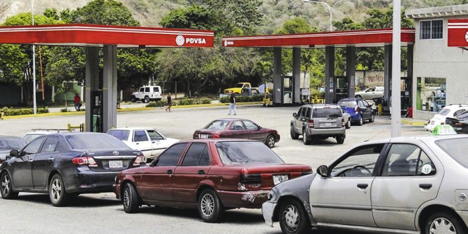 En Venezuela también hay escasez de gasolina