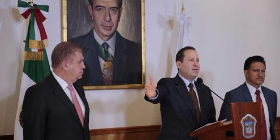 Edomex propone reformas al nuevo Sistema de Justicia Penal