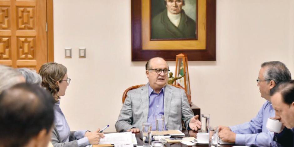 Morelos y SCT trabajan en  el socavón