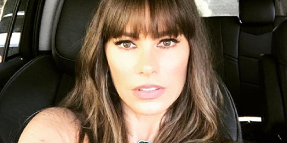 ¡Cambiazo! Sofia Vergara opta por la moda del flequillo