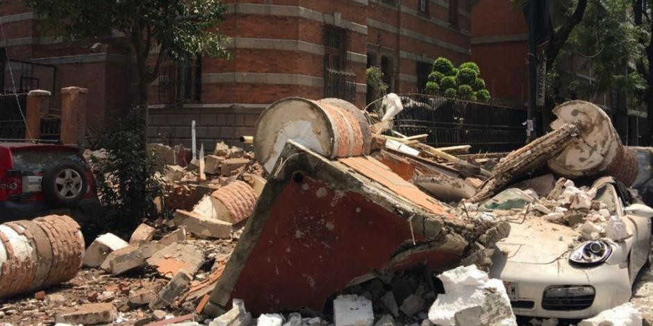 32 años después sismo vuelve a golpear a la CDMX