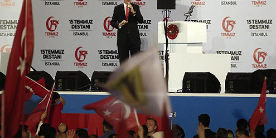 Turquía conmemora un año del fallido golpe de Estado