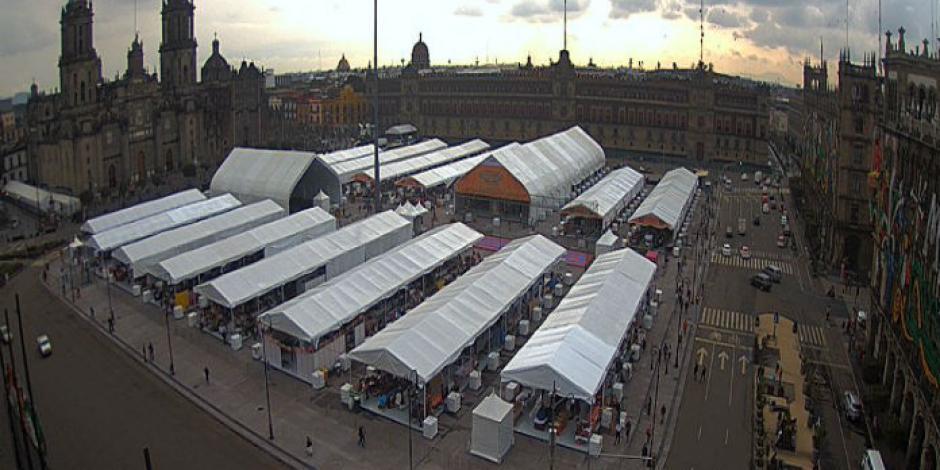 Arranca Feria de las culturas indígenas en el Zócalo