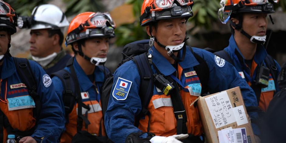 FOTOS: Se retiran rescatistas japoneses; el pueblo de México les agradece