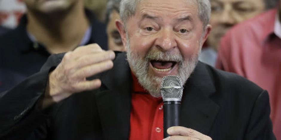 Congelan 4 cuentas a Lula da Silva tras condena