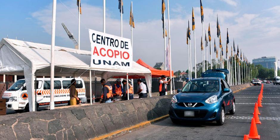 Recupera UNAM centro de acopio; y luego lo cierra