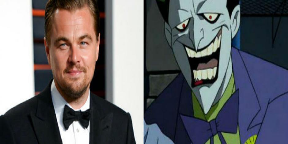 Warner, interesado en Leonardo Dicaprio para interpretar al Joker