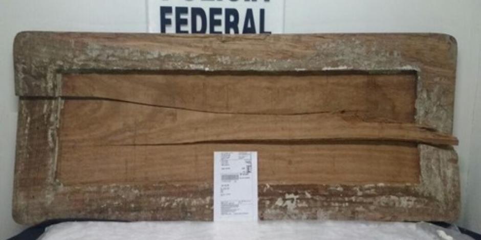 Incautan 10 kilos de metanfetamina que estaban en un mueble de madera, en Jalisco