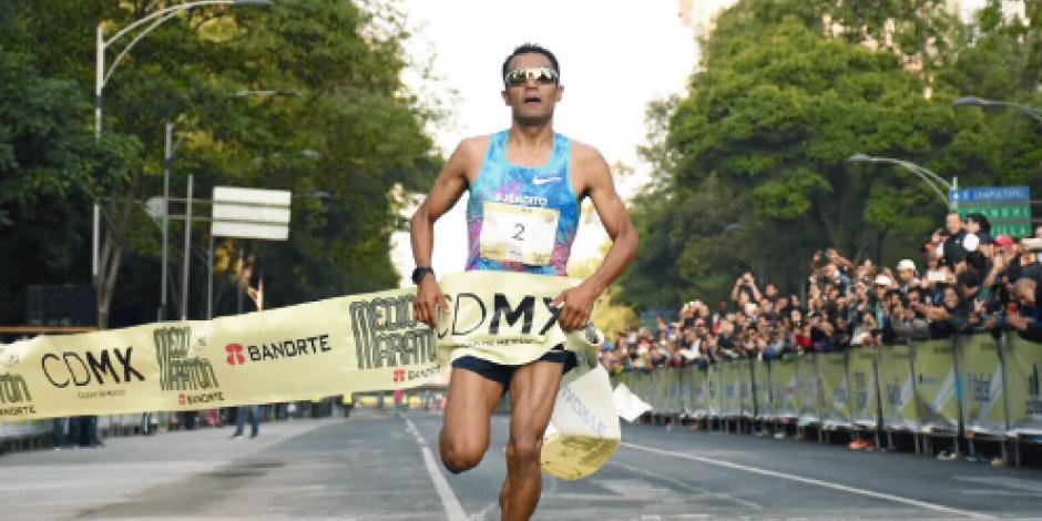 Luis Barrios, dueño del  Medio Maratón CDMX