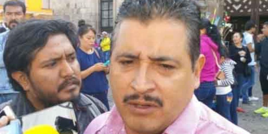 Amaga CNTE Michoacán con radicalizar acciones de no saldarse adeudos
