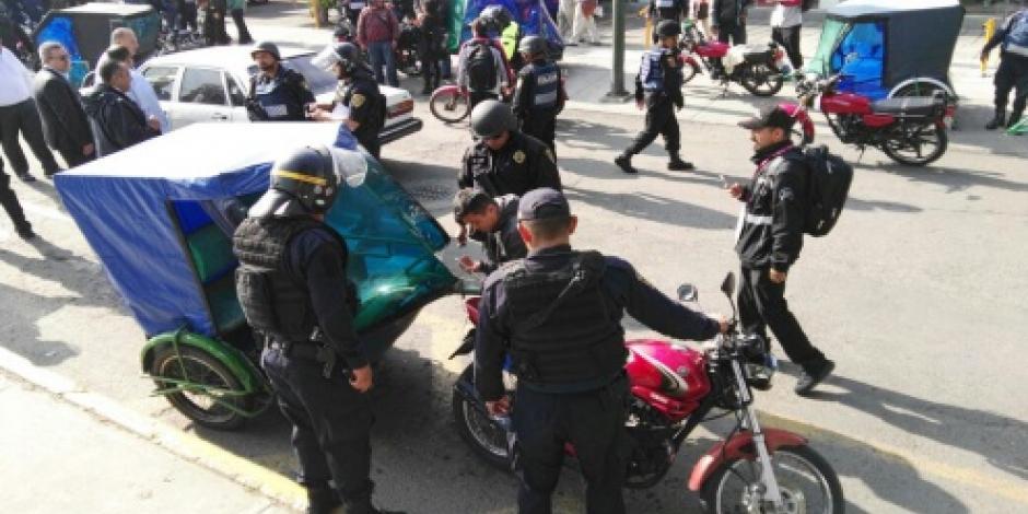 A regulación bicitaxis y ciclotaxis en capital, dejan fuera a mototaxis