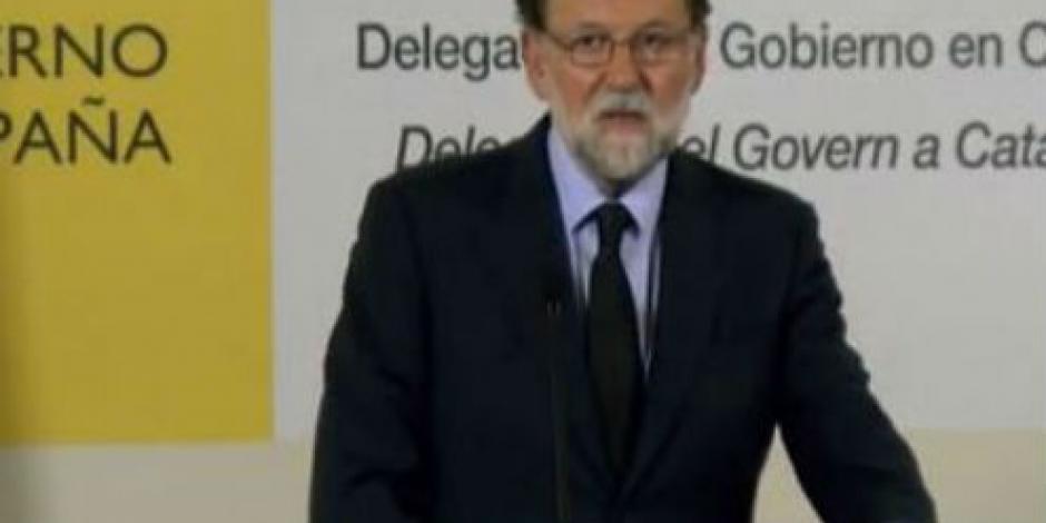 """Decreta Rajoy tres días de luto por """"salvaje"""" ataque terrorista"""