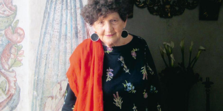 Feria del libro judío le rinde  homenaje a Margo Glantz