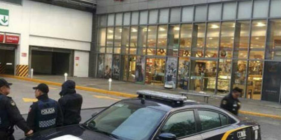 Caen 6 en la Doctores por robar celulares, relojes y joyas de una tienda