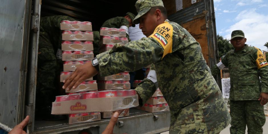 Alistan entrega de 350 toneladas de apoyo en Oaxaca