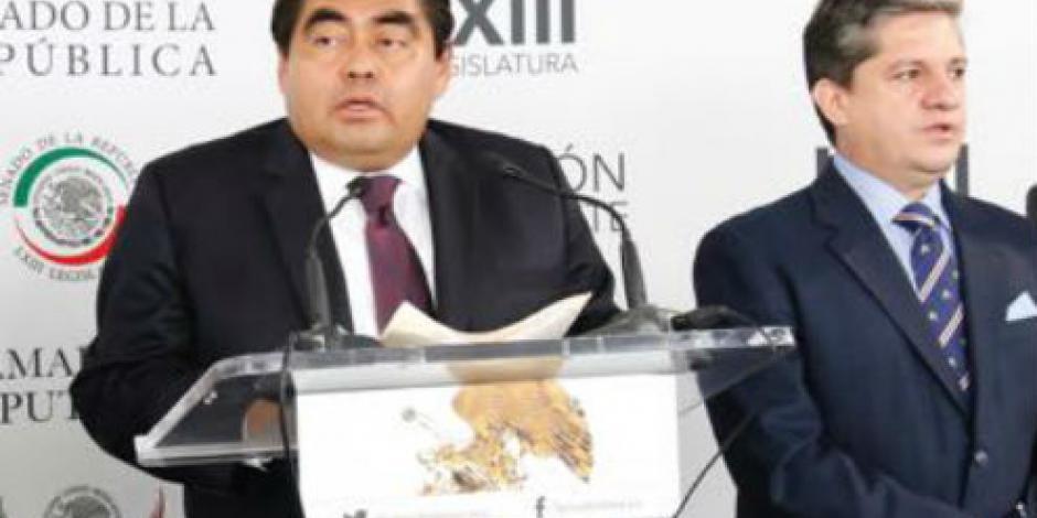 Barbosa también llama a consejeros del INE a renunciar