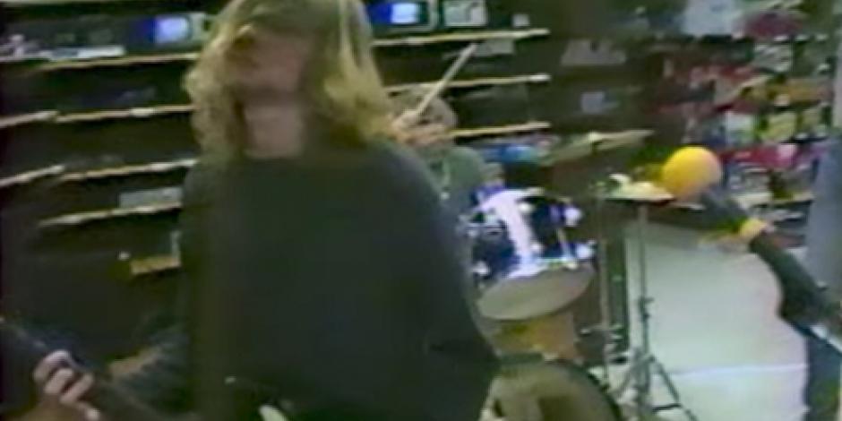 Revelan video inédito de Kurt Cobain, vocalista de Nirvana