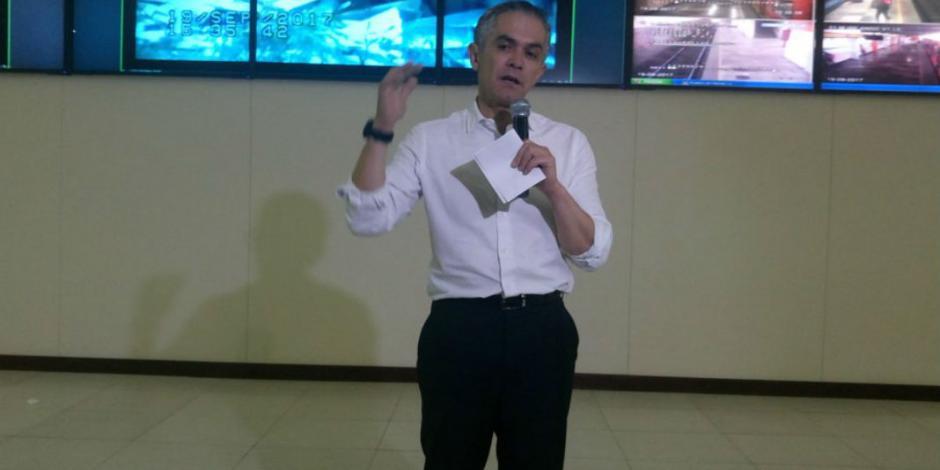 Declara Mancera emergencia en la CDMX