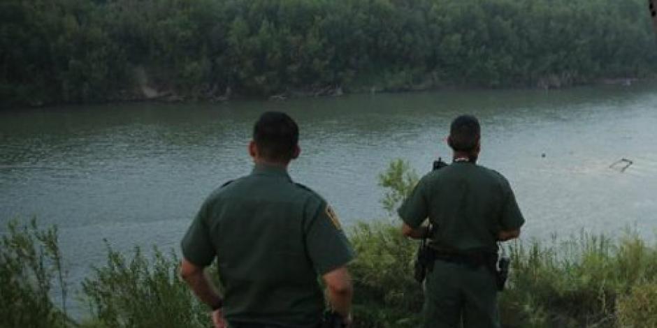 Recuperan 4 cuerpos de migrantes en el río Bravo