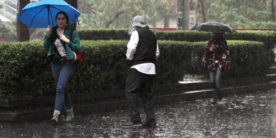 Prevalecen lluvias intensas en la mayor parte del país, detalla el SMN