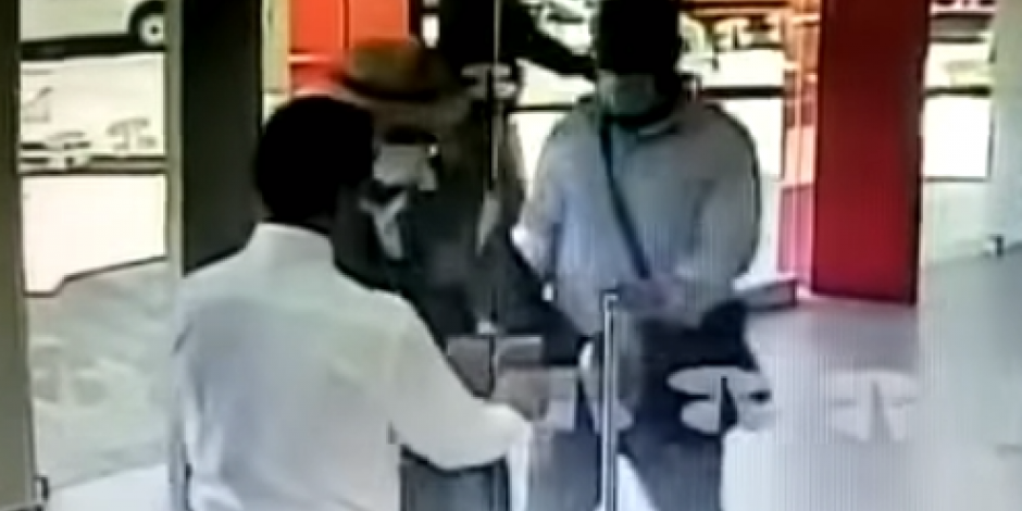 Por llegar tarde, ladrones no pudieron robar un banco en Jalisco