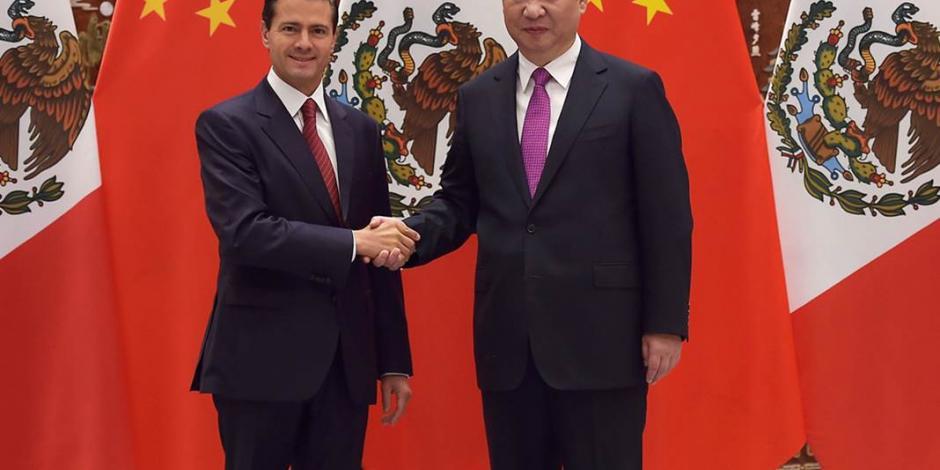 EPN acude a foro de negocios en China