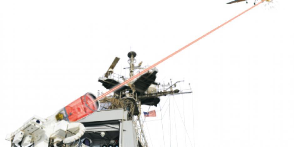 Visualización: esta es la nueva arma de EU: el cañón láser