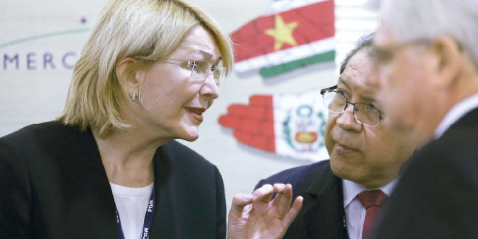 Fiscal rebelde entrega pruebas contra Maduro a EU, España...