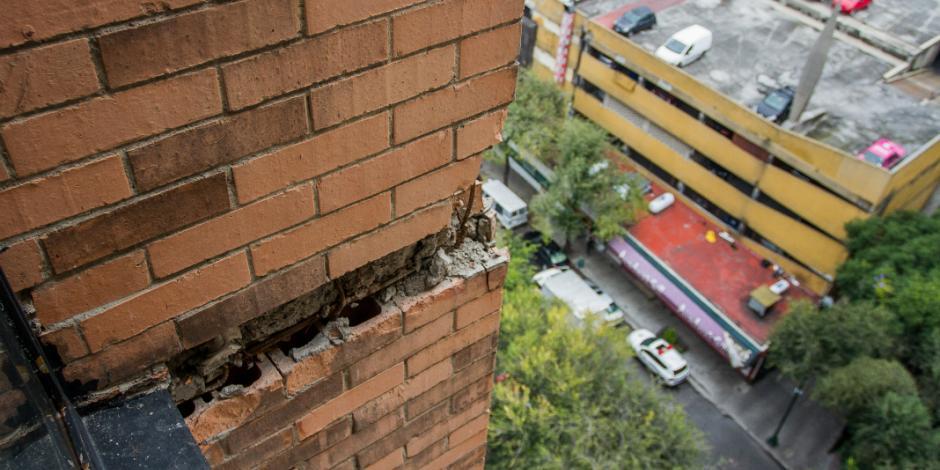 Mil edificios a punto de colapsar en la CDMX
