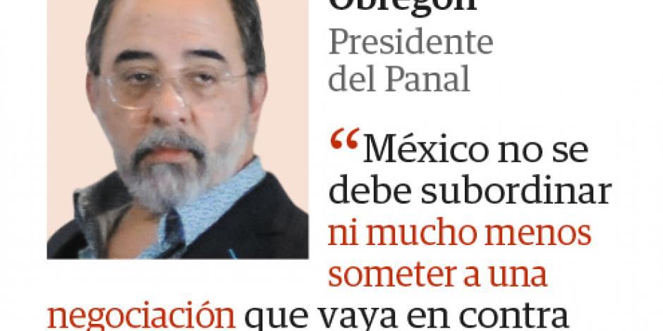 México no debe subordinarse: Castro