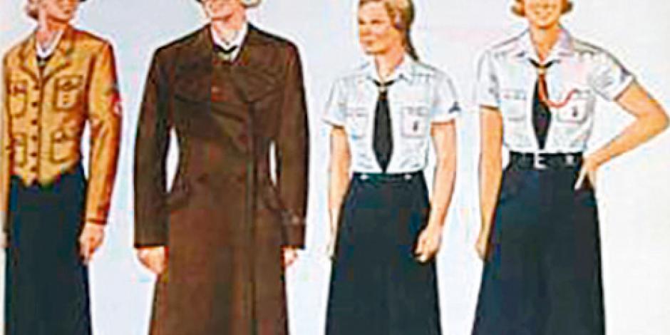 Libro desentraña el misterio de las niñas soldado de Hitler
