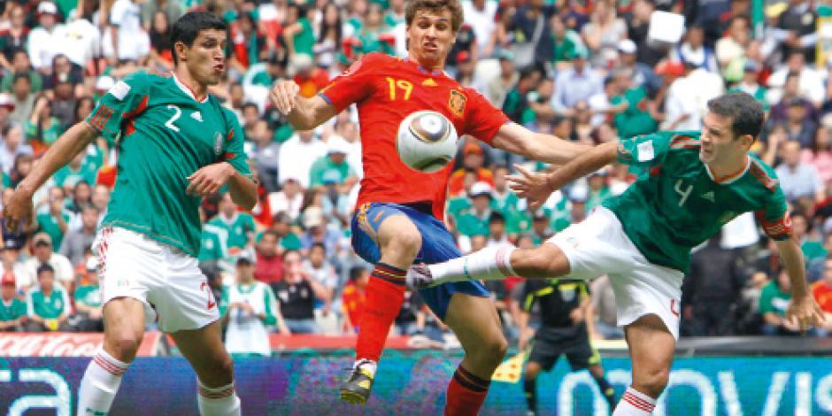 FMF pagó casi un millón de pesos para jugar contra España
