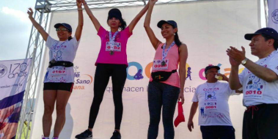 Con carrera, conmemoran 170 aniversario del Hospital Juárez de México