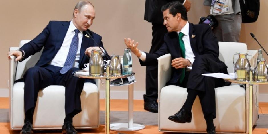Inicia participación de EPN en cumbre del G-20 en Alemania