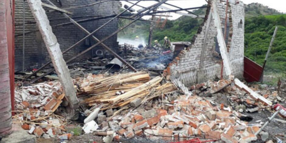 Reportan explosión en taller de pirotecnia en Río Blanco, Jalisco