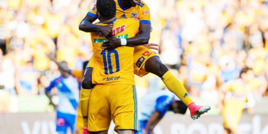 VIDEOS: Tigres propina goleada de 5-0 a Puebla en Apertura de Liga MX