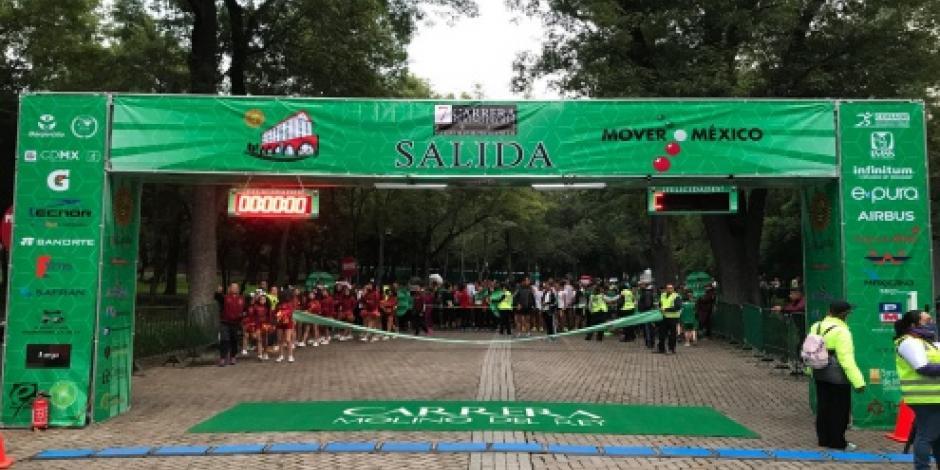 Encabeza EPN Séptima Carrera Molino del Rey