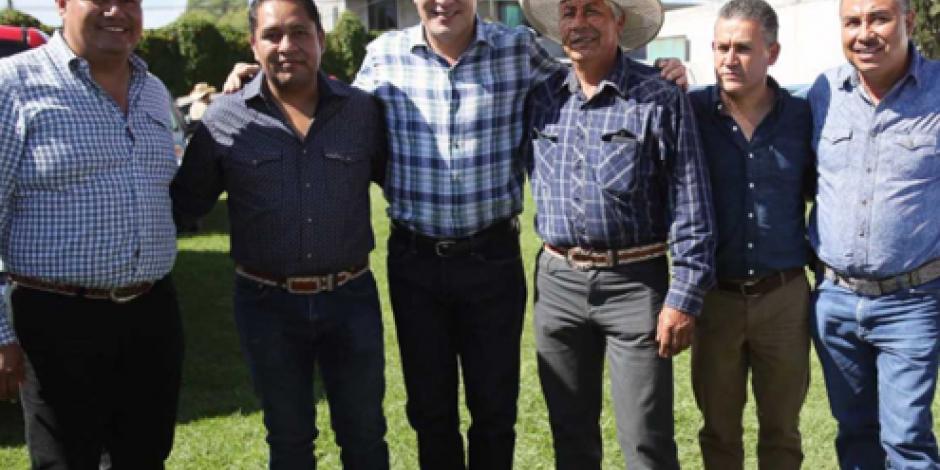 Asiste Moreno Valle como invitado de honor a evento en Hidalgo