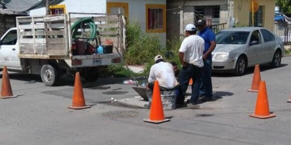 Invierten 44 mdp para rehabilitar el drenaje en Holbox