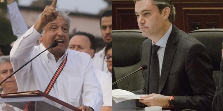 Protagonizan Nuño y Obrador pelea en Twitter